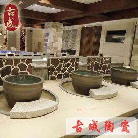 溫泉浴場專用陶瓷泡澡缸 日式陶瓷泡澡缸 廠家直銷
