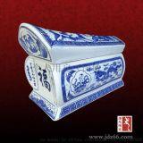 手繪陶瓷長棺定做,瓷器長棺規格