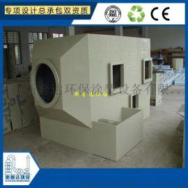 嘉兴油漆甲醛离子净化器.卧式洗涤塔废气处理工程