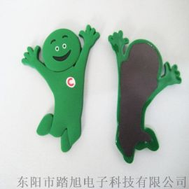 居家日用卡通软胶冰箱贴定制创意小礼品磁性贴PVC冰箱磁贴批发