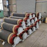 阻燃铸胶卸载滚筒 洗煤厂皮带机滚筒可定制
