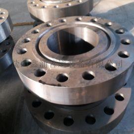 A105圆钢锻制对焊法兰河北鑫涌DN100对焊法兰