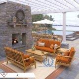高档休闲简约家具组合 户外庭院花园柚木沙发