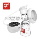 厂家直销电动吸奶器自动大吸力挤奶器硅胶吸乳器集乳器