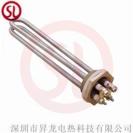 不鏽鋼法蘭電熱管 導熱油加熱管 鍋爐水箱加熱棒