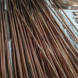 国标厂家彩色不锈钢楼梯扶手管 玫瑰金 黑钛金管 异型管 彩色管