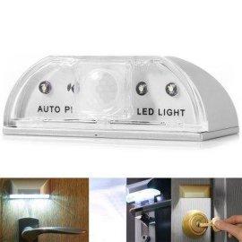 厂家直销 门镜门口灯家庭灯 智能迷你门把感应灯 人体红外感应灯