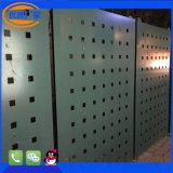 供應定製裝飾方孔6*6菱形孔穿孔板 厚度1.2鐵板洞洞板 可來料加工 市內可送貨