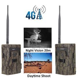 厂家直销 4G通讯 高清 防水红外狩猎相机 可发照片和视频 抗低温 5DBI 天线
