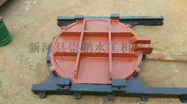 2米乘2米法兰式铸铁圆闸门水利机械闸门启闭机闸门厂家价格