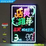 索彩7050LED电子发光荧光板玻璃写字板广告板厂家直销包邮