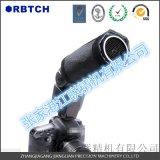 相机闪光燈专用的铝蜂窝防炫灯光罩配件 亚光黑铝蜂窝芯