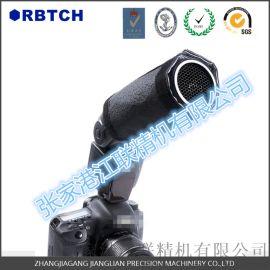 相机闪光燈  的铝蜂窝防炫灯光罩配件 亚光黑铝蜂窝芯