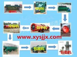 江西有机肥成套生产线 畜禽粪便加工有机肥料设备 厂家直销