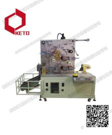 KETO线材双面热转印机 全自动热转印机 带自动分切转印机批发