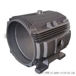 鑫丰机械供应铸铁电机机壳、机盖,型号齐全,支持订做