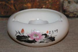 建福宫烟灰缸厂家供应烟灰缸礼品陶瓷LOGO定制诚招全国区域代理商