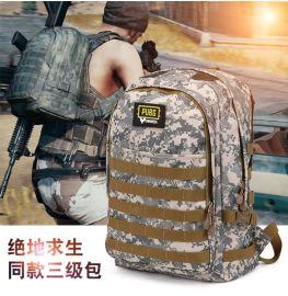 上海箱包定制供应防水户外登山包 双肩包 迷彩包可添加logo