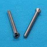 厂家直销 供应不锈钢紧固件 不锈钢十字半沉头机螺丝