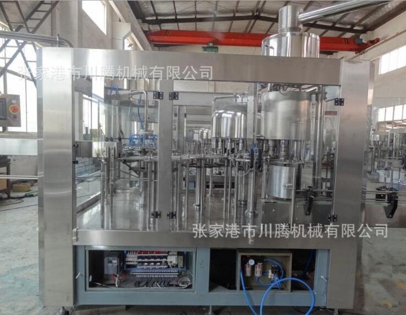 供应全自动三合一灌装机 矿泉水生产设备