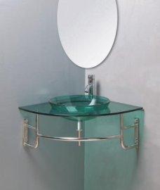 玻璃台盆(B-033)
