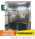 供應青島膠州平度食品廠加工間雙向不鏽鋼防撞