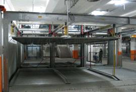 升降横移式四层机械车库