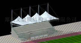山西看台膜结构,运动场主席台,河南风雨操场顶棚,体育场观礼台