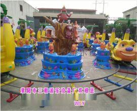公园互动类儿童游乐设施欢乐打地鼠