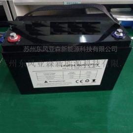 24v100ah磷酸铁锂电池组大容量户外船推电源动力电池组