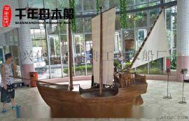 小景观船 小型欧式帆船 室内装饰船