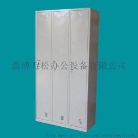 不锈钢 衣柜厂家直销定制山东铁皮衣柜六门 衣柜