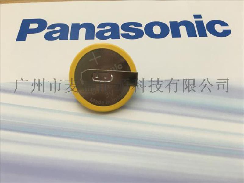 供应原装松下BR2032纽扣电池可定制加工焊脚