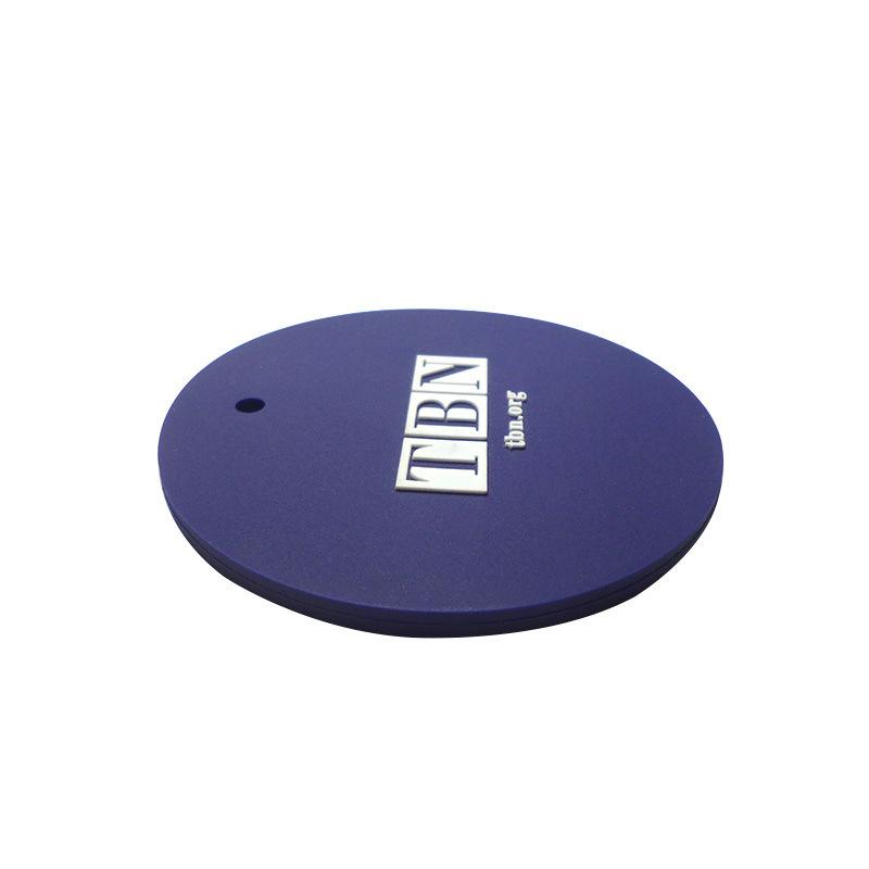 定制环保PVC吊牌 圆形行李包吊牌 厂家直销