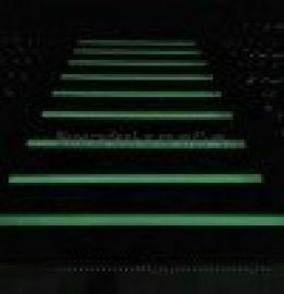 上下楼梯指示条夜光贴,铝合金防滑条蓄光自发光标识