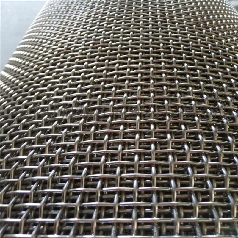 工业金属编织网方孔6mm网孔不锈钢丝网