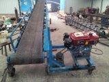 V型槽電滾筒輸送機價格防爆電機 自動式膠帶爬坡機