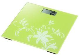 LCD数字显示 高温烤漆 钢化玻璃称面 健康礼品人体电子秤