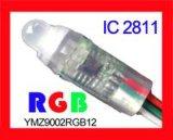 12mm全彩RGB外露穿孔字灯串