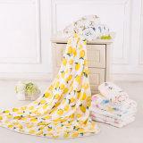 竹纤维纱布浴巾 宝宝浴巾 婴儿竹纤维抱被