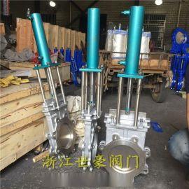 温州刀闸阀厂家 铸钢液动刀型闸阀DN200