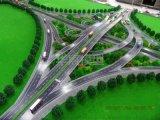 製作交通樞紐沙盤模型 高速公路沙盤 橋樑模型訂製