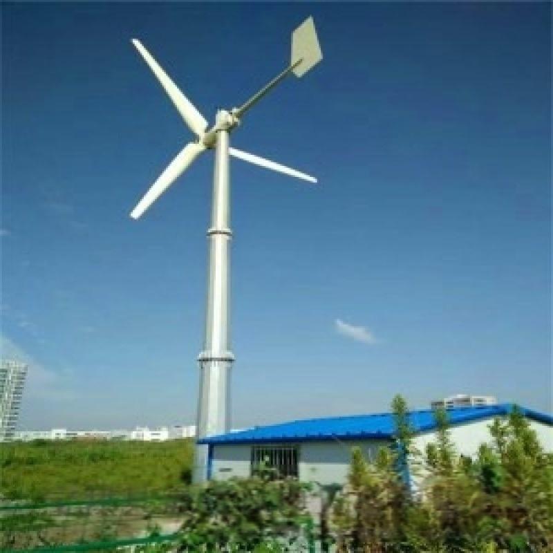 陕西晟成2000w并网型永磁风力发电机防火防潮