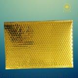 定制生产金色快递袋,金色镀铝膜气泡快递袋