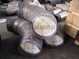 陶瓷衬管陶瓷耐磨复合弯头 耐磨弯头江苏江河机械