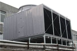 厂家销售玻璃钢冷却塔 方形横流式玻璃钢冷却塔
