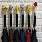 定製水晶傘柄頭 創意潮流動物傘柄工廠 個性化定製晴傘