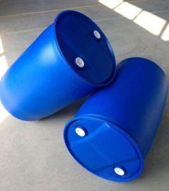 江苏安徽蓝色塑料桶厂价直销,200升化工桶供应,皮重10.5kg双环桶,出口级别塑料桶,全国24小时发货