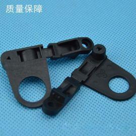 供应三分压线板 P形压线夹、压线片 灯饰配件