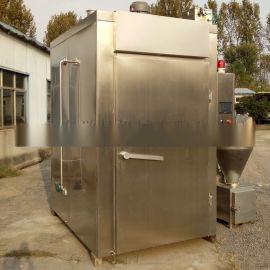 全自动多功能烟熏箱整机质保一年终身技术维护